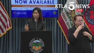 Coronavirus: Officials in Orange County, California, address region's COVID-19 response