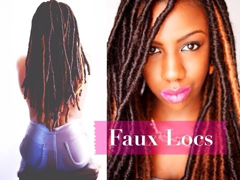 Faux Locs: Marley Locs. Temporary Loc Extensions. Protective Styling