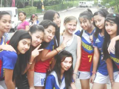 VOLLEYBALLPLAYERS OF CORNERSTONE ACADEMY