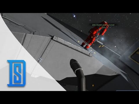 Space Engineers - Work Begins on Mining Vessel