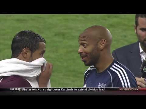 Thierry Henry vs AS Roma MLS All-Star Game 2013