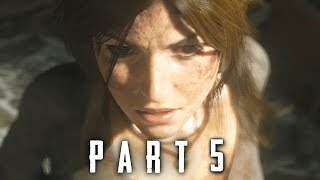Rise of the Tomb Raider Walkthrough Gameplay Part 5 - Captured (2015)