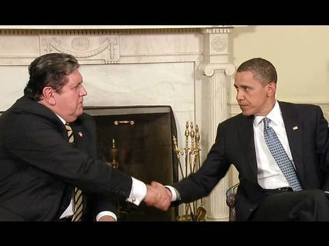 President Obama Meets with Peruvian President Garcia