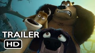 Open Season: Scared Silly Official Trailer #1 (2016) Animated Movie HD