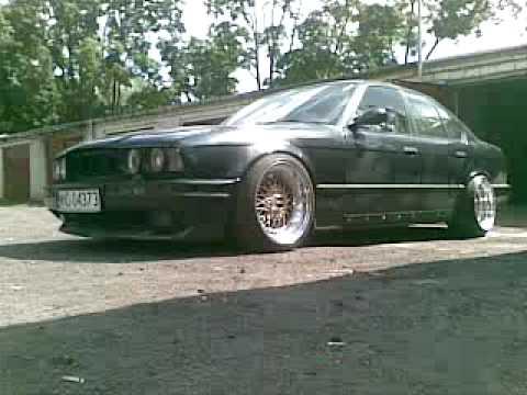 "08082009 High-Tech BMW e34 m-technic on BBS RS 17"""