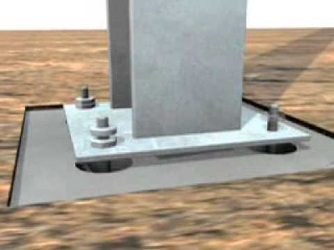 Steel Construction Foundations Youtube