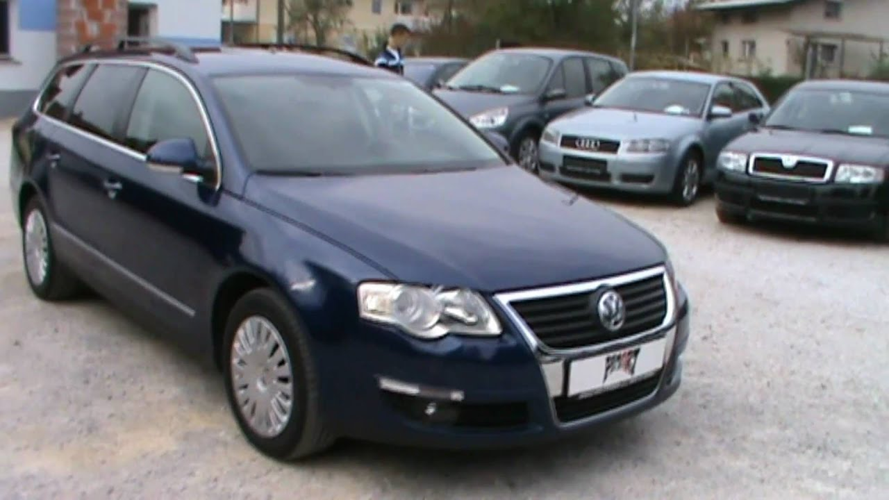 2006 vw passat variant 2 0 tdi comfortline full review start up engine and in depth tour youtube. Black Bedroom Furniture Sets. Home Design Ideas