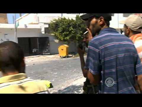 The CBS Evening News with Scott Pelley - Libyan rebels progress toward Tripoli