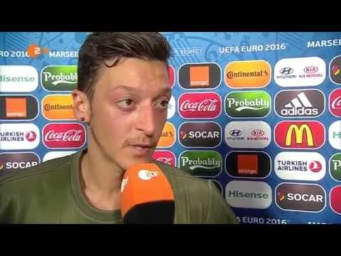 Mesut Özil Traurig: Interview nach Deutschland Frankreich Spiel Halbfinale EM 2016