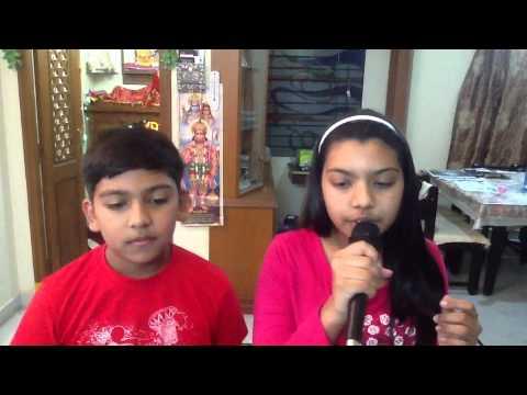 Lag Ja Gale (Woh Kaun Thi) Cover By Somya and whistling by Yash...