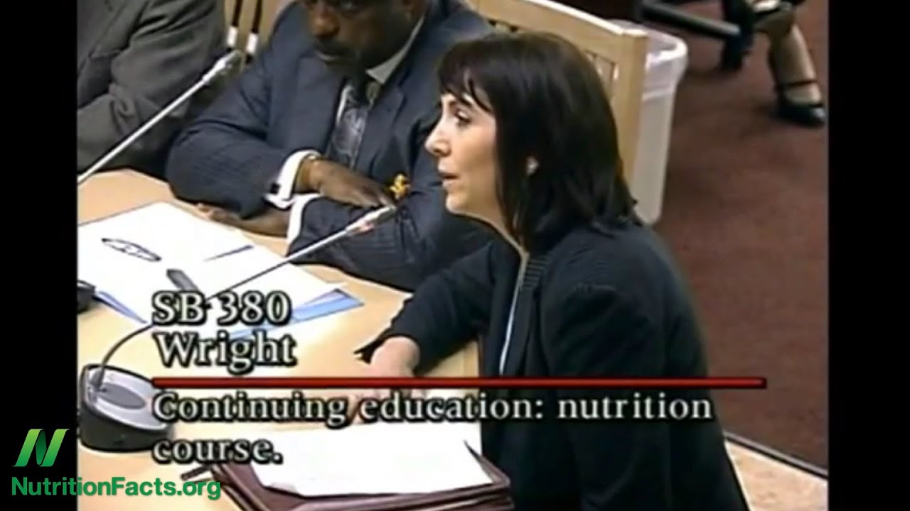 Medical Associations Oppose Bill to Mandate Nutrition Training