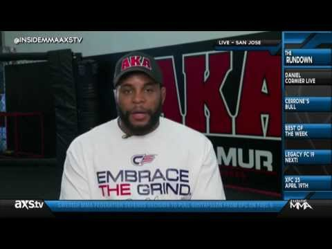 Cormier and Rockholds Hilarious Blooper