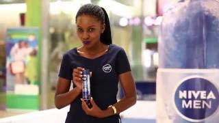 NIVEA MEN COOL KICK Mall activations    at Garden Cty Mall by RoyalReel Photography