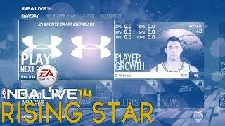 NBA Live 14 Rising Star Ep.2 | EA Sports Rookie DRAFT SHOWCASE | Next Gen Xbox One Gameplay