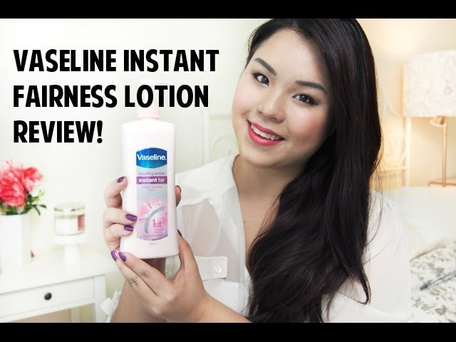 Review: Vaseline Instant Fairness Lotion!