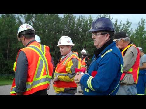 On August 11, 2011, the decommissioned power plant located in Parkland County near Wabamun, Alberta, was imploded. Under the leadership of Fire Chief Jim Phe...