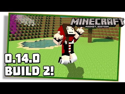VEJA AS NOVIDADES DO MINECRAFT PE 0.14.0 BUILD 2 (beta)! - (Pocket Edition / MCPE)