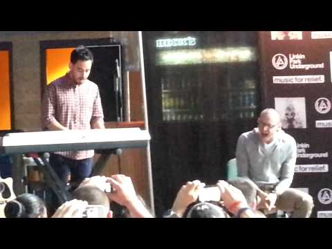 Linkin Park Acoustic In My Remains