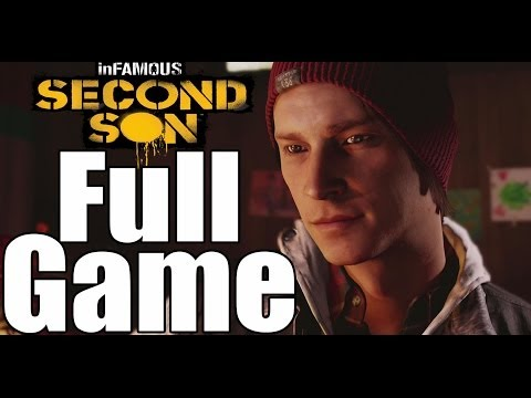 Infamous Second Son Complete Walkthrough / Full Game Walkthrough