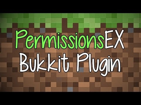 PermissionsEX Bukkit Plugin How to Install and Configure (1.7.4)