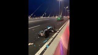 tai nạn tại cầu Vàm Cống