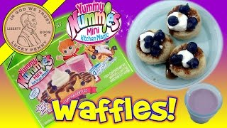 Yummy Nummies Wonderful Waffles DIY Maker Set Mini Kitchen Magic Food Kit
