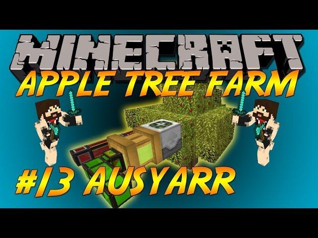 FTB Apple Tree farm Automatic Let's Play Ep13