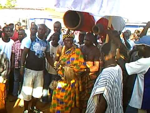 NANA  KWAKU BONSAM  DOING  Festival celebration