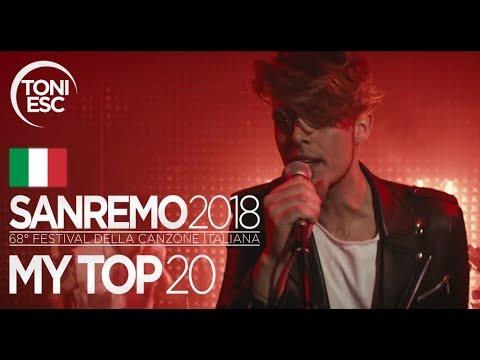 Sanremo 2018: My top 20