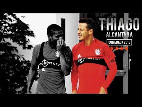 Thiago Alcantara - Kid Again - Comeback 2015