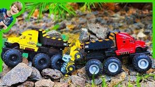 Monster Trucks for Children With Dump Truck Beds