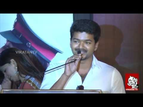 Kajal Agarwal is Hot – Vijay Speech with Thuppakki Trailer