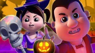 Citrouille Effrayant | Chansons D'Halloween Pour Les Enfants | Scary Pumpkin | Farmees Française