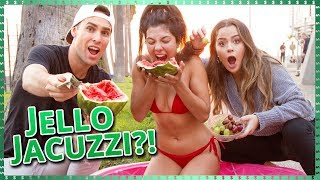 Download Lagu Jello Jacuzzi Challenge!! | Do It For The Dough w/ Tessa Brooks and Tristan Tales Gratis STAFABAND