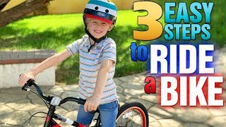 Learn to Ride a Bike without Training Wheels with Michael!