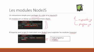 NodeJS - Principes de Base
