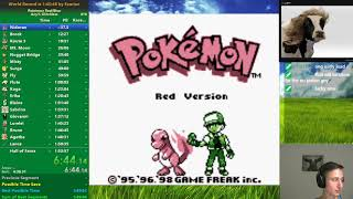 Pokemon Red in 1:49:47 [PB] - 2nd best racetime of Red