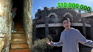 I BOUGHT A $10,000,000 CASTLE!! (WE FOUND SECRET ROOMS & DUNGEONS)