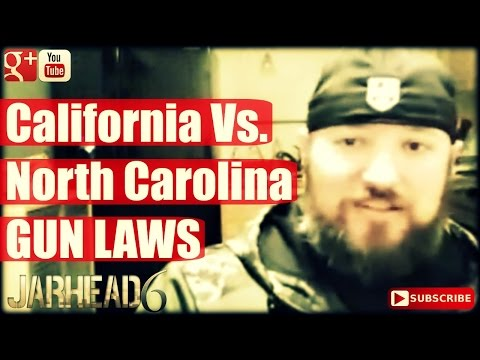 GUN LAWS: California Vs. North Carolina (Radio Show: EP #13)