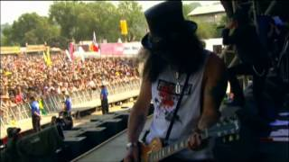 Slash - Glastonbury Festival 2010 (Full Concert) Part 1
