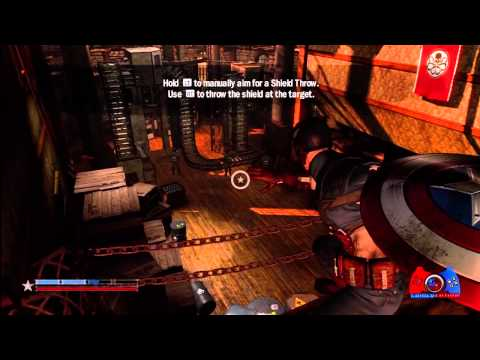 Captain America Super Soldier Walkthrough Part 2 (XBOX 360, PS3, WII, DS, 3DS)