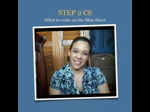 Step 2 CS - Blue Sheet