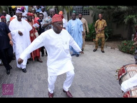 This Funny Video Of Obasanjo Dancing At His 79th Birthday Will Make Your Day [MediaHoarders.com.ng]