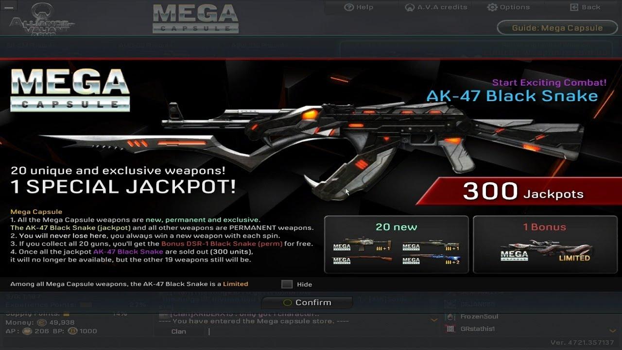 A.v.a Snake Mega Capsule 2