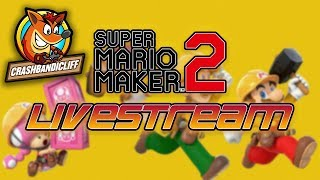 Super Mario Maker 2 | Endless Challenges & Viewer Levels! | !join (level code)