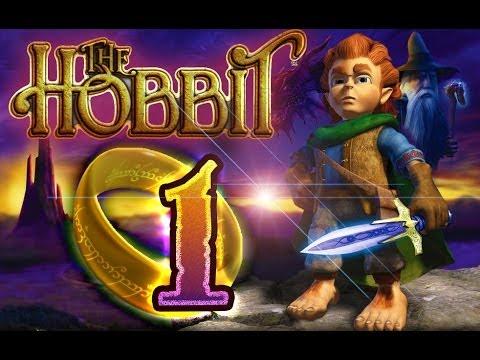 The Hobbit - Video Game (PS2 GCN XBOX PC) 100 Walkthrough -...
