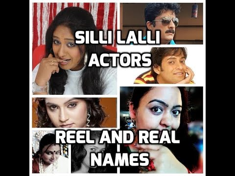 SILLI Lalli kannada comedy serial - vittal rao and all other actors real names.