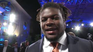 Malcom Brown at the College Football Awards Show [Dec. 12, 2014]