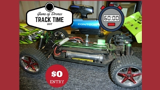 RC FPV BUGGY Vs Drone - Offroad fun on the Racetrack ADVENTURES
