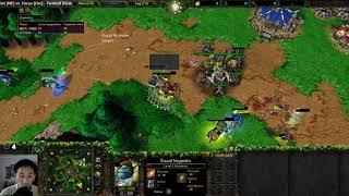 Lawliet (NE) vs Focus (Orc) - WarCraft 3 - WC####